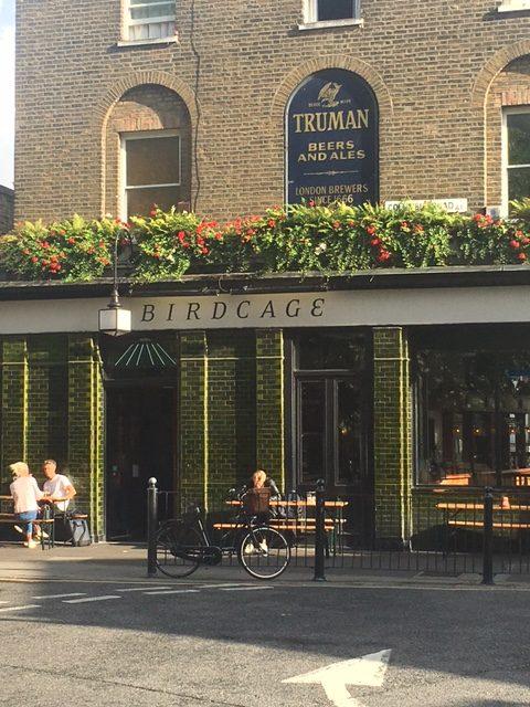 Birdcage pub columbia road london