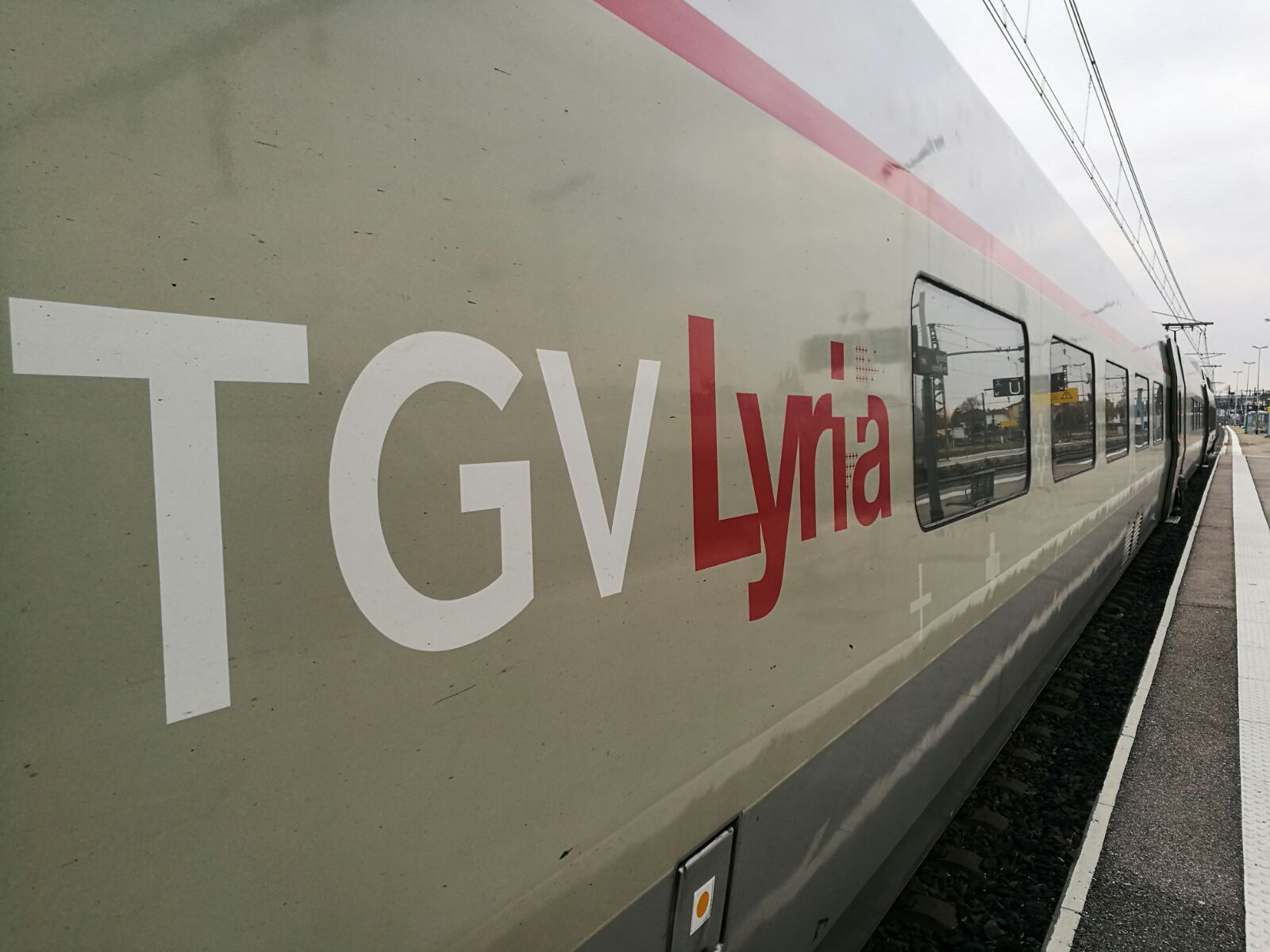 TGV direction Genève